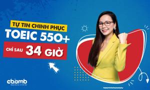 Combo Chinh Phục TOEIC 550+
